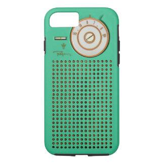 Capa iPhone 8/ 7 iPhone do rádio de transistor do vintage 8/7 de