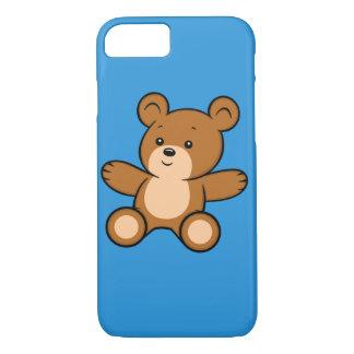 Capa iPhone 8/ 7 iPhone do urso de ursinho dos desenhos animados