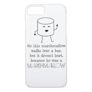 Capa iPhone 8/ 7 iPhone engraçado do bar do Marshmallow 7/8 de caso