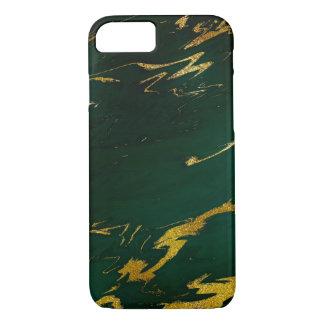 Capa iPhone 8/ 7 iPhone esmeralda de mármore de pedra Samsung do