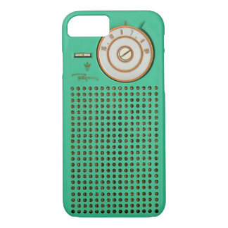 Capa iPhone 8/ 7 iPhone Geeky do rádio de transistor 8/7 de caso