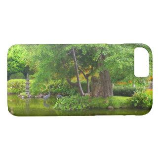 Capa iPhone 8/ 7 iPhone japonês da lagoa #4 do jardim de chá de SF