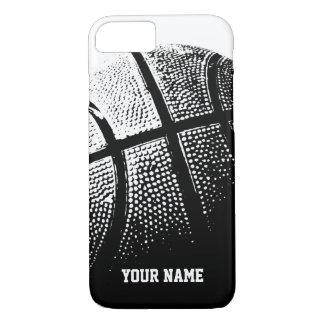 Capa iPhone 8/ 7 iPhone personalizado 7 esportes do basquetebol do