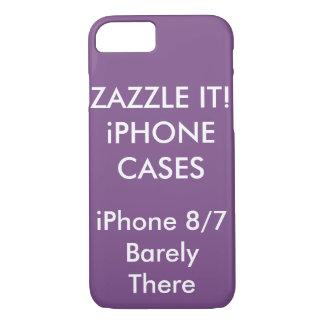 Capa iPhone 8/ 7 iPhone personalizado costume 8/7 de caso magro