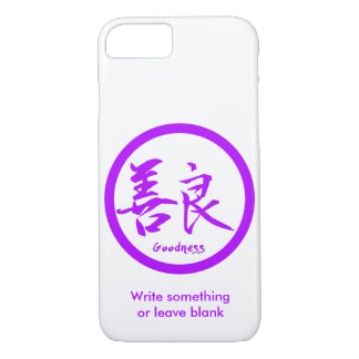 Capa iPhone 8/ 7 iPhone roxo de Kamon   do Kanji dos bens 7 casos
