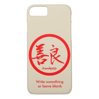Capa iPhone 8/ 7 iPhone vermelho de Kamon   do Kanji dos bens 7