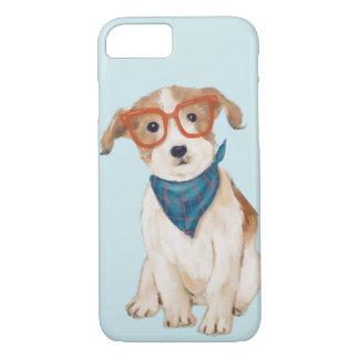 Capa iPhone 8/ 7 Jack Russell Terrier (cor do fundo editável)