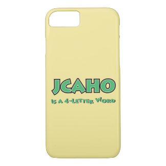 Capa iPhone 8/ 7 JCAHO é uma palavra 4-Letter