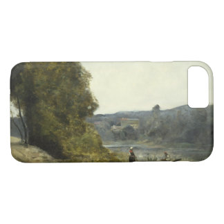 Capa iPhone 8/ 7 Jean-Baptiste-Camilo Corot - a partida