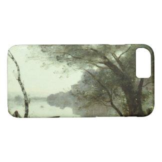 Capa iPhone 8/ 7 Jean-Baptiste-Camilo Corot - barqueiro