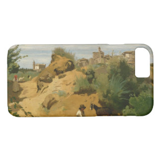 Capa iPhone 8/ 7 Jean-Baptiste-Camilo Corot - Genzano