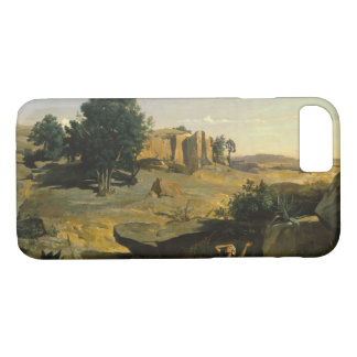 Capa iPhone 8/ 7 Jean-Baptiste-Camilo Corot - Hagar
