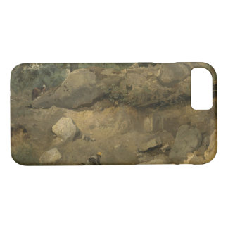 Capa iPhone 8/ 7 Jean-Baptiste-Camilo Corot - mina de pedra