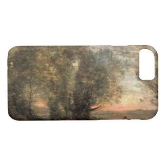 Capa iPhone 8/ 7 Jean-Baptiste-Camilo Corot - pescador