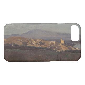 Capa iPhone 8/ 7 Jean-Baptiste-Camilo Corot-Villeneuve-les-Avignon