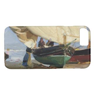 Capa iPhone 8/ 7 Joaquin Sorolla - Pescadores. Varadas de Barcas