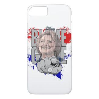 Capa iPhone 8/ 7 Jogo da culpa de Hillary