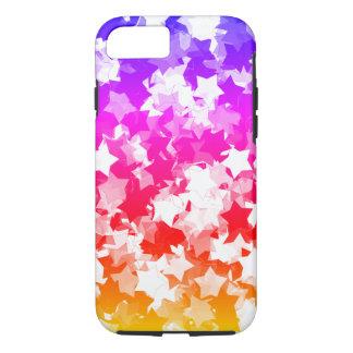 Capa iPhone 8/ 7 Kawaii Stars a menina tropical de néon de Gyaru