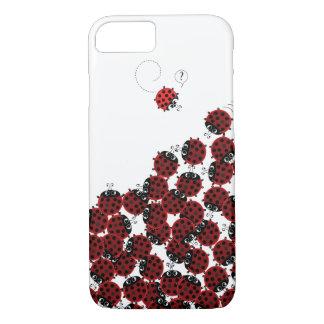 Capa iPhone 8/ 7 La Coccinelle - um lugar aglomerado no branco?