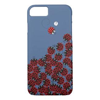 Capa iPhone 8/ 7 La Coccinelle - um lugar aglomerado nos azul-céu?