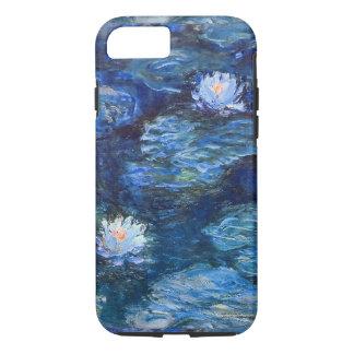Capa iPhone 8/ 7 Lagoa do lírio de água em belas artes azuis de