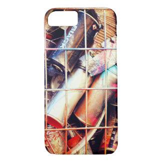 Capa iPhone 8/ 7 Latas de pulverizador prendidas da arte da rua