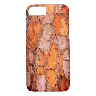 Capa iPhone 8/ 7 Latido de pinheiro alaranjado do quebra-cabeça de