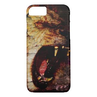 Capa iPhone 8/ 7 Leão do africano do animal selvagem do safari do