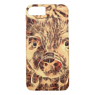 Capa iPhone 8/ 7 Leitão surpreendente animal de ArtsStudio-