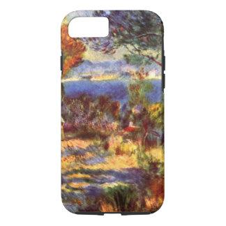 Capa iPhone 8/ 7 L'Estaque por Pierre Renoir, impressionismo do