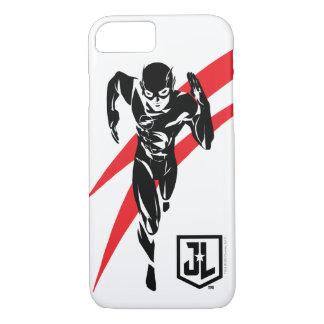 Capa iPhone 8/ 7 Liga de justiça   o flash que funciona o pop art