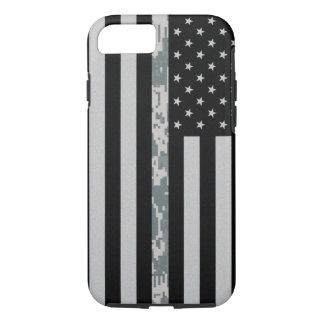 Capa iPhone 8/ 7 Linha fina caso de Digi Camo do exército do iPhone