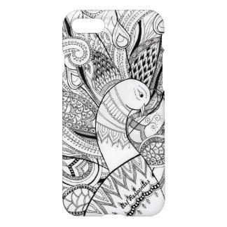 Capa iPhone 8/7 Linhas e design do pavão