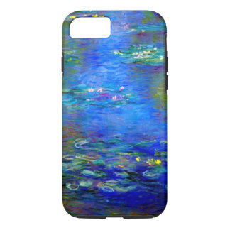 Capa iPhone 8/ 7 Lírios de água v4 de Monet