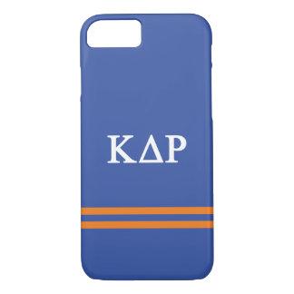 Capa iPhone 8/ 7 Listra do esporte do ró   do delta do Kappa
