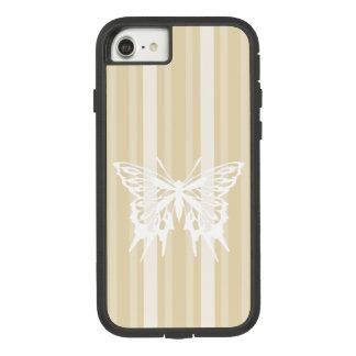 Capa iPhone 8/ 7 Listra do Victorian de Besswax com borboleta