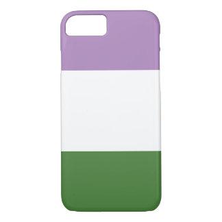 Capa iPhone 8/ 7 Listras do design | da bandeira do orgulho do