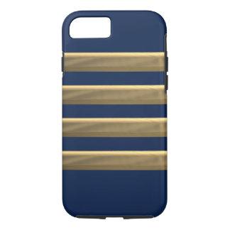 Capa iPhone 8/ 7 Listras do ouro do capitão