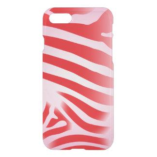 Capa iPhone 8/7 Listras vermelhas e cor-de-rosa do impressão da