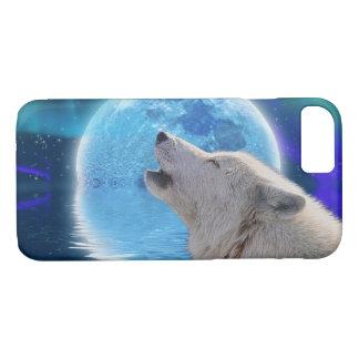 Capa iPhone 8/ 7 Lobo branco & animais selvagens árticos do