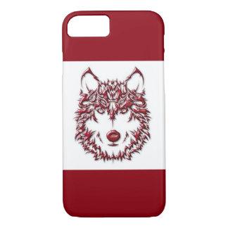 Capa iPhone 8/ 7 Lobo vermelho