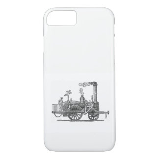 Capa iPhone 8/ 7 Locomotiva de vapor adiantada
