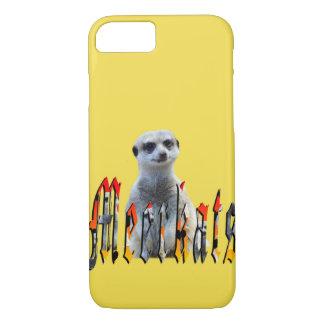 Capa iPhone 8/ 7 Logotipo da imagem de Meerkat e de Meerkats,