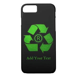 Capa iPhone 8/ 7 Logotipo do reciclar por Shirley Taylor