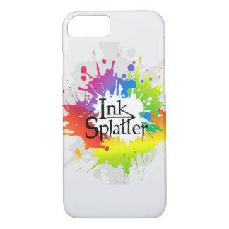 Capa iPhone 8/ 7 Logotipo do Splatter da tinta - Iphone 8/7 de caso