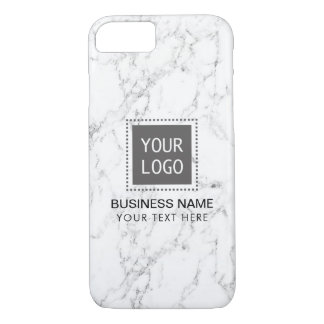 Capa iPhone 8/ 7 Logotipo feito sob encomenda incorporado de