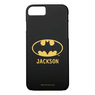 Capa iPhone 8/ 7 Logotipo oval do símbolo | de Batman