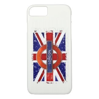 Capa iPhone 8/ 7 Londres, Inglaterra, Great Britain Union Jack,
