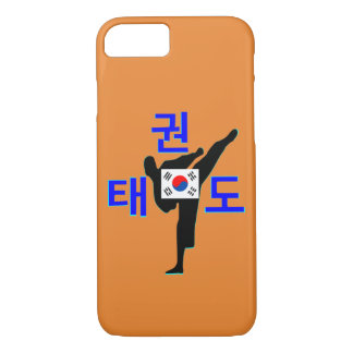 Capa iPhone 8/ 7 ❤☯✔Love Arte-TaeKwonDo marcial coreano Pena-como