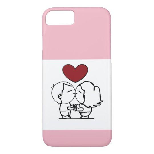Capa iPhone 8/ 7 Love is in the air - O amor está no ar